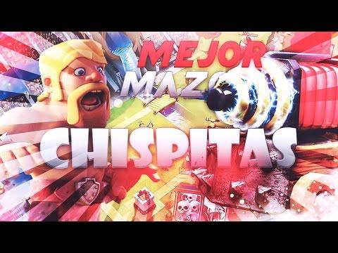 MEJOR MAZO CON CHISPITAS!!!-DESTROZA A TUS RIVALES!!-Clash Royale