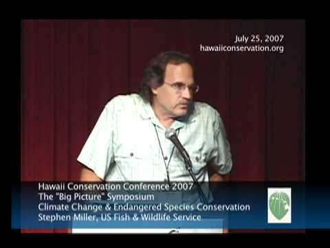 Climate Change and Endangered Species Conservation (Stephen Miller)