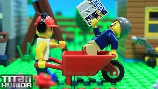 Lego Neighbors Fight