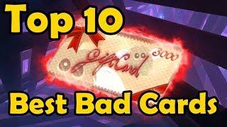 Top 10 Best Bad Cards in YuGiOh