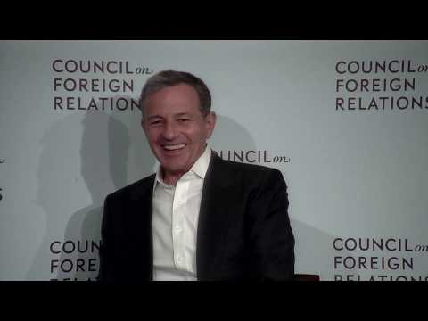 Clip: Disney CEO Robert A. Iger on Meeting With the Crown Prince of Saudi Arabia