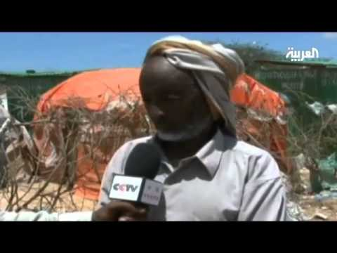 Displaced Somalis face tough living in camps