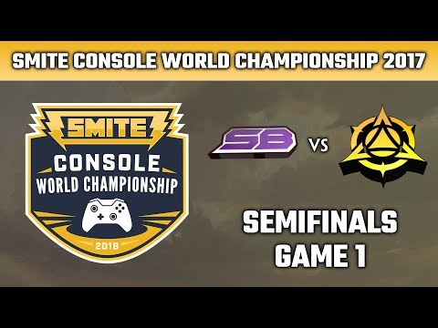 SMITE Console World Championship 2018: Semifinals - Strictly Business vs. Myth Gaming (Game 1)