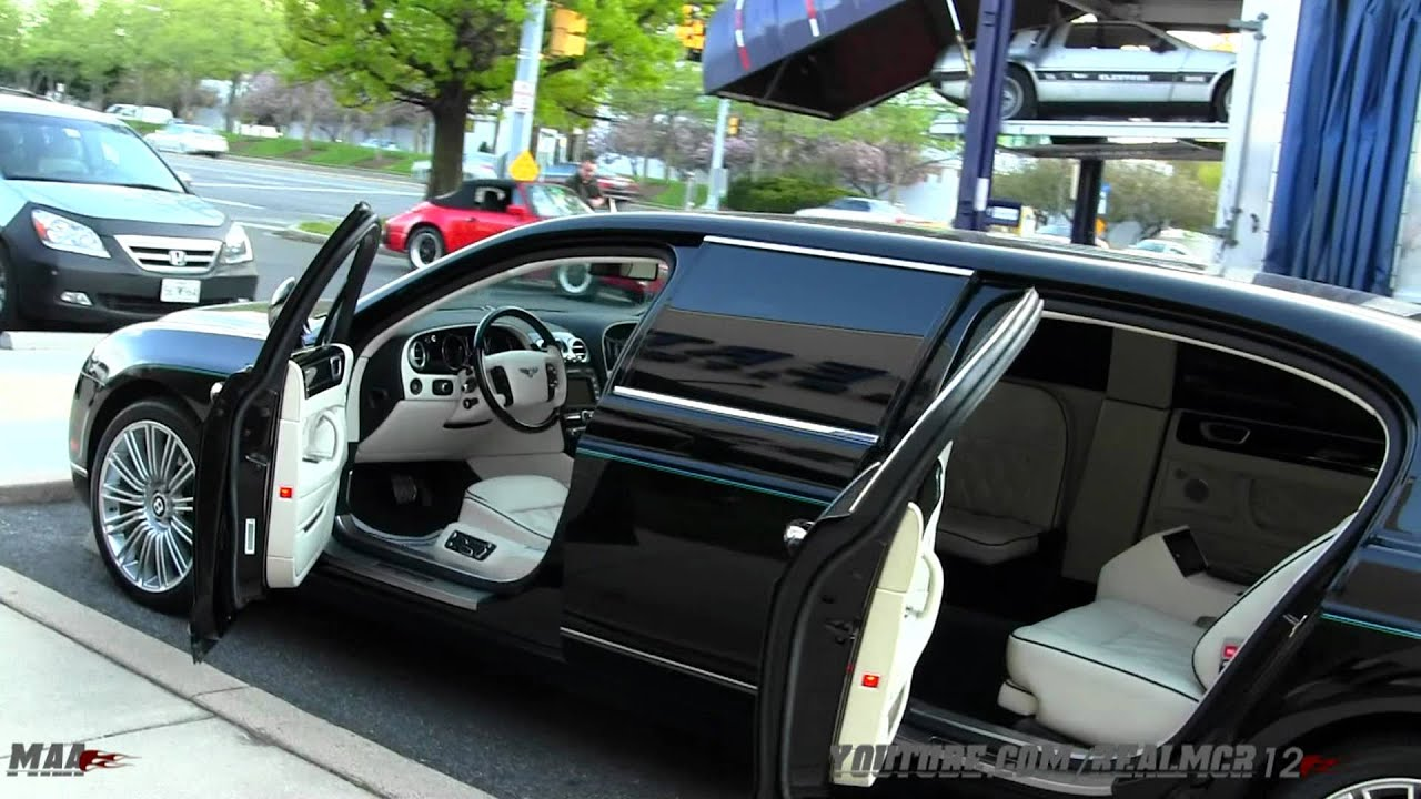 Bentley Continental Flying Spur Limousine Youtube