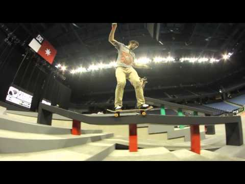 Street League 2012: Ontario Practice Quick Clip with Chris Cole