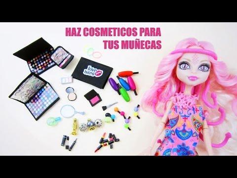 Episodio 713-Cómo hacer cosmeticos o maquillaje para tus muñecas