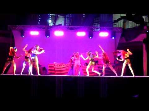 Coreografia Egipcias 2013 en el Massa
