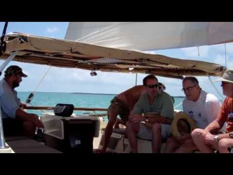 Sailing on Ray Barkley's Tiki 30