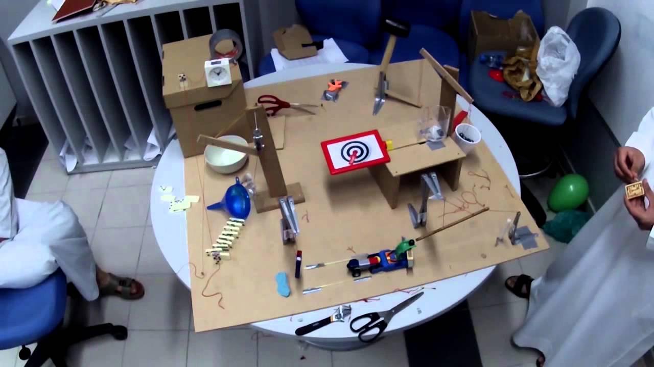 Rube Goldberg Hammer a Nail