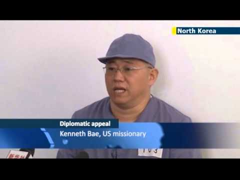 US Prisoner in North Korea: Detained Christian missionary Kenneth Bae appeals for release