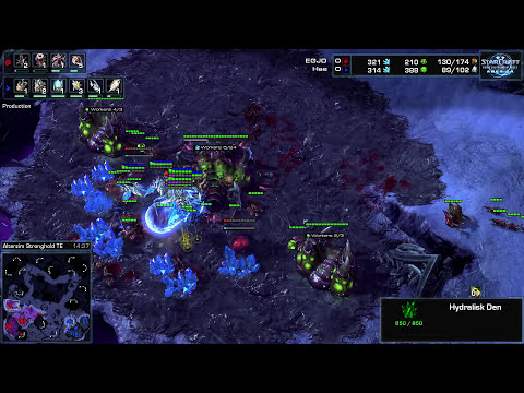 WCS America 2014 Ro32 Group D M4 Has vs Jaedong Game 1