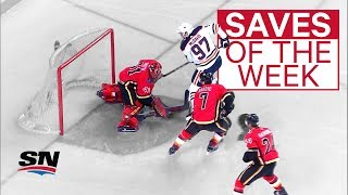 NHL Saves of the Week: Mike vs. McDavid