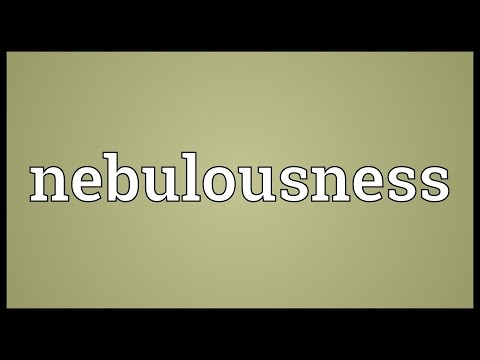 Header of nebulousness