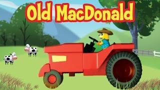 Old MacDonald Had A Farm | Popular Nursery Rhymes | Learn Sounds Of Animals