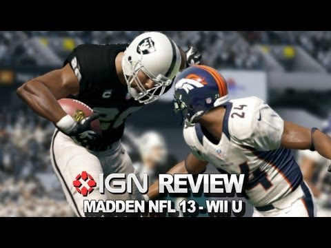 Madden NFL 13 Wii U Video Review - IGN Reviews
