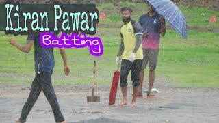 Kiran Pawar classical Battinng In owale Rubber Ball Tournament 2018