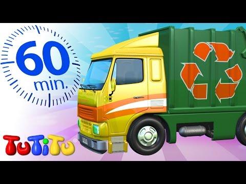 TuTiTu ของเล่น   รถเก็บขยะ   และของเล่นอันน่าตื่นเต้นอื่น ๆ   พิเศษ 1 ชั่วโมง