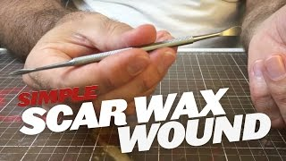 Creating wounds with scar wax Part 1 (Materials) SFX makeup tutorial