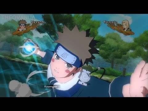 UNS3:FB - Nawaki (PTS Naruto) + Tsunade (Younger colour scheme) MODS [HD]