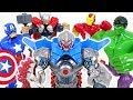 Defeat The Greatest Villain Ultron Appeared Go Marvel Hulk Thor Iron Iron Man DuDuPopTOY mp3