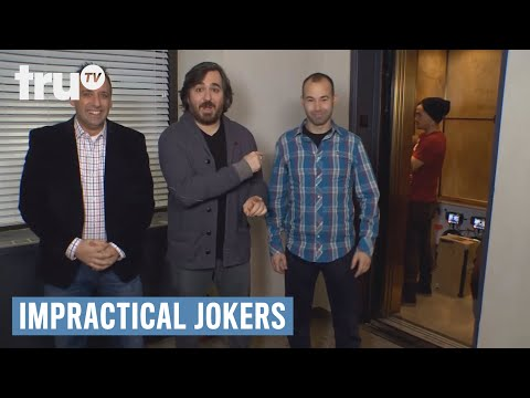 Impractical Jokers - Sal gets trapped in an elevator