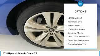 2010 Hyundai Genesis Coupe AU033061