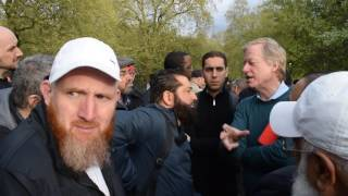 Video: Islam was spread by the Sword - Abbas London vs Athiest