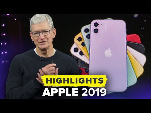 Apple39s iPhone 11 Special Event in 13 Minutes