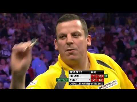 Premiere League darts week 9 Judgement Night Wright vs Chisnall