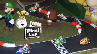 Super Mario Kart - stop motion