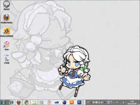 Desktop Mascot of Sakuya Izayoi