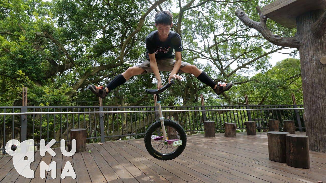 Vous n'avez jamais vu un monocycle comme ça