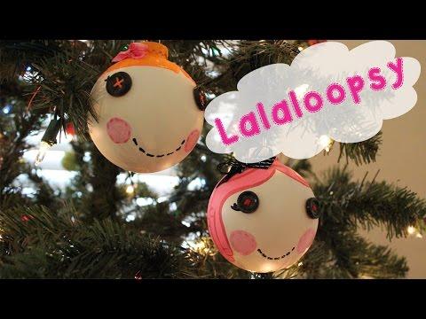 EASY Lalaloopsy Christmas Ornament Tutorial