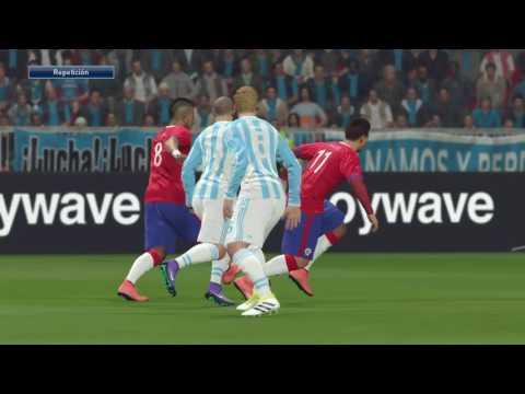 Simulación: Chile Vs Argentina - Copa América Centenario