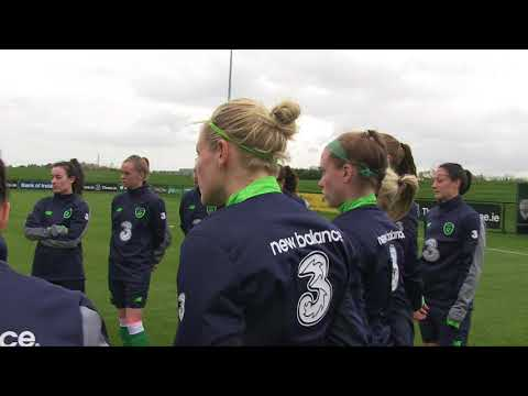#IRLWNT Training | Gym, team talk, goals... getting ready for Slovakia