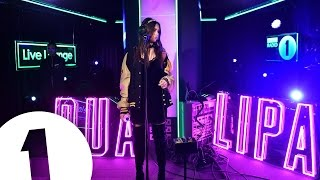 Dua Lipa covers the Weeknd