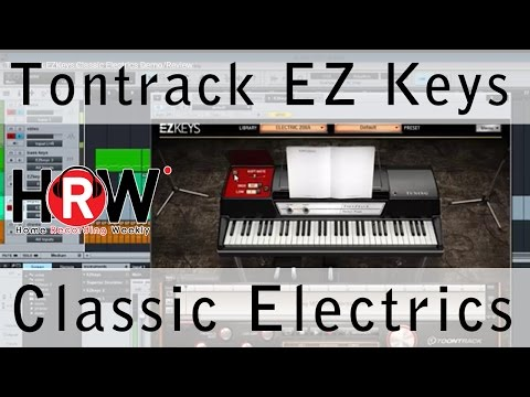Toontrack EZKeys Classic Electrics Demo/Review