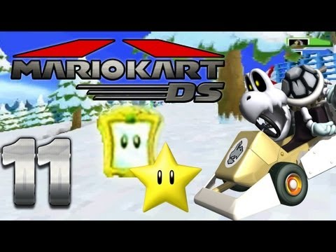 Let's Play Mario Kart DS Part 11: Stern Cup Spiegel Modus