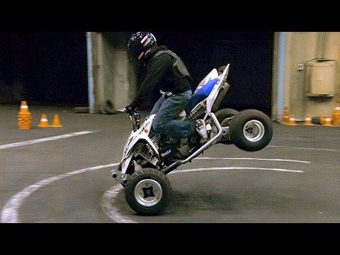 Стант на Квадроцикле и Китайце - Atv Stunt & Drift video