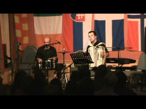 Matthew MacLennan and Alan Irvine at Shetland Accordion & Fiddle Festival 2010