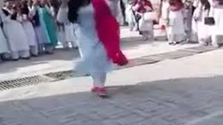 Beautiful Pakistani School Girl Dance at School Function   YouTube