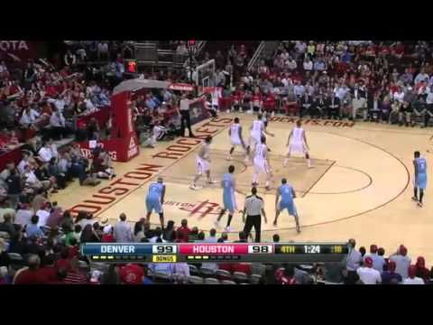 NBA Denver Nuggets Vs Houston Rockets Highlights April 16, 2012 Game Recap