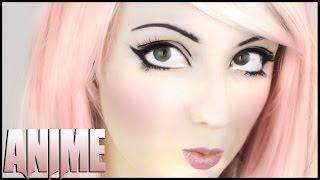 Anime Make-Up Tutorial (deutsch) ♡ I Hannah Black