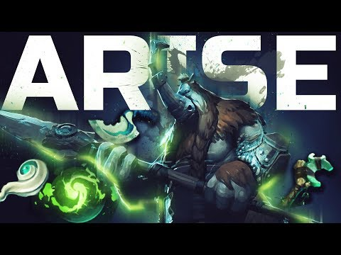 Ar1Se- The King of Magnus - Gameplay Compilation Dota 2
