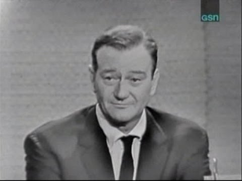 What's My Line? - John Wayne; Joey Bishop [panel] (Nov 13, 1960)