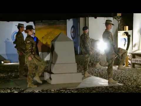 Tarin Kot, Afghanistan - ANZAC Day 2013