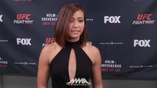 Michelle Waterson Wants UFC Women's 125-Pound Division, Talks 'Dangerous' Weight Cutting