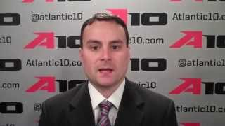 Archie Miller at the 2014 A-10 Media Day