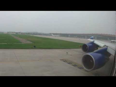 Beijing (PEK) to San Francisco (SFO) United Airlines Flight #888 Takeoff with Channel 9 (Live ATC)