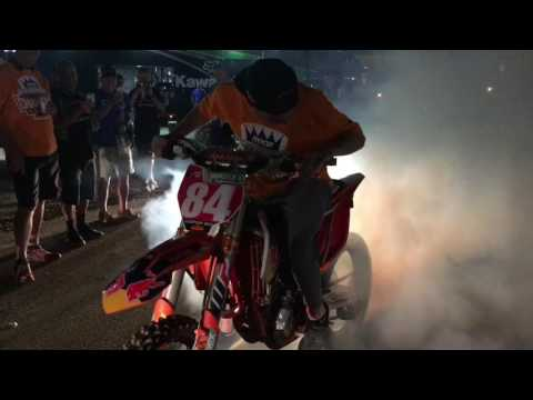 Jeffrey Herlings World Championship Burn Out In Charlotte